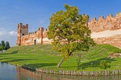 Castelfranco Veneto, Treviso, Italy. City walls of Castelfranco Veneto, Treviso, Italy Stock Photography