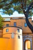 Castelgandolfo, le palais papal images libres de droits