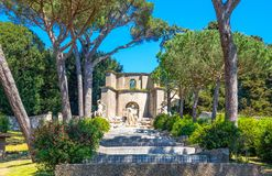 Castelgandolfo, le palais papal image libre de droits