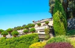Castelgandolfo, le palais papal photos libres de droits