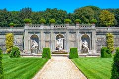 Castelgandolfo, le palais papal images stock