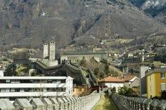 castelgrande城堡 免版税图库摄影