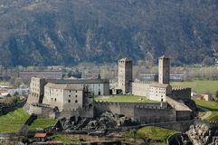 Castelgrande castle Royalty Free Stock Image