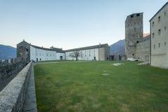 Castelgrande castle, in Bellinzona Royalty Free Stock Photos