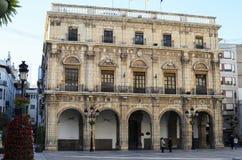 Castellà ³ n城镇厅  免版税库存照片