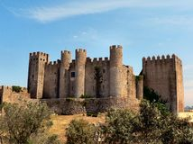 Castell of Óbidos Royalty Free Stock Photo