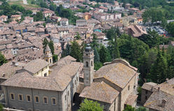 castell Αιμιλία Ιταλία arquato romagna Στοκ Εικόνες
