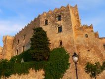 Castell, Altafulla (Spagna) Immagine Stock