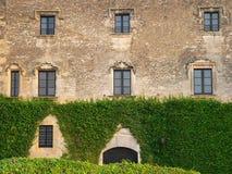 Castell, Altafulla (Spagna) Fotografia Stock