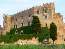 Castell, Altafulla (Spanje) Stock Foto's