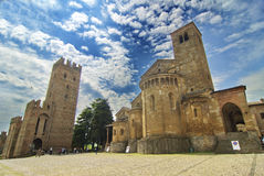 Castell'Arquato Royalty Free Stock Photography