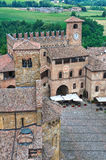 Castell'arquato. Emilia-Romagna. Italia. Imagen de archivo libre de regalías