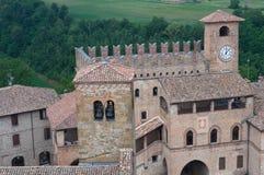 Castell'arquato. Emilia-Romagna. Italy. Stock Photos