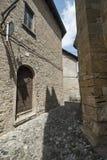 Castell ` Arquato Piacenza, Ιταλία, ιστορική πόλη Στοκ φωτογραφίες με δικαίωμα ελεύθερης χρήσης