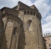 Castell ` Arquato Piacenza, Ιταλία, ιστορική πόλη Στοκ φωτογραφία με δικαίωμα ελεύθερης χρήσης