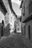 Castell ` Arquato Piacenza, Ιταλία, ιστορική πόλη Στοκ Φωτογραφίες