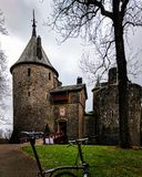 Castell coch Stock Afbeelding