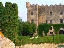 Castell de Altafulla (Spagna) Fotografia Stock Libera da Diritti