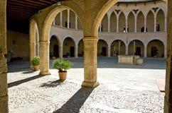 Castell DE Bellver Stock Afbeelding