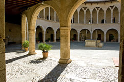 Castell de Bellver Image stock