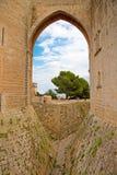 Castell de Bellver. Famous Castell de Bellver in Palma de Mallorca, Spain Royalty Free Stock Image