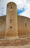 Castell de Bellver. Famous Castell de Bellver in Palma de Mallorca, Spain Royalty Free Stock Images