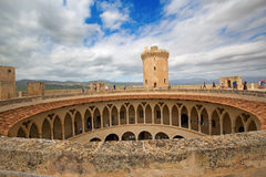 Castell de Bellver. Famous Castell de Bellver in Palma de Mallorca, Spain Royalty Free Stock Photo
