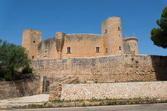 Castell de Bellver Royalty Free Stock Photography