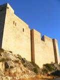 Castell de Miravet ( Catalonia ) Stock Image