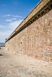 castell de montjuic Photo libre de droits
