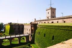 Castell de Montjuic. Barcelona Stock Photography