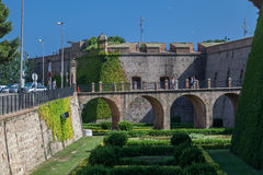 Castell de Montjuic Barcelona Royalty Free Stock Images