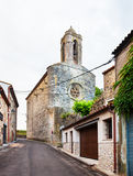 Castell de Pubol. Catalonia Royalty Free Stock Image