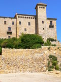 Castell de Tamarit de Mar (Spain ) Royalty Free Stock Photo