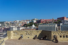 Castell Dell'Ovo. Photo of Naples in the summer Stock Photo