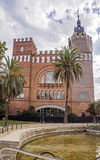 Castell dels Tres Dragons in Barcelona Stock Photo