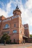 Castell dels tres dragons exterior, Barcelona Stock Image