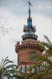Castell dels tres Dragons Royalty Free Stock Image