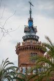 Castell dels tres Draken Royalty-vrije Stock Afbeelding