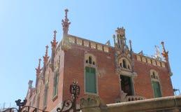 Castell dels tres Draken Royalty-vrije Stock Foto