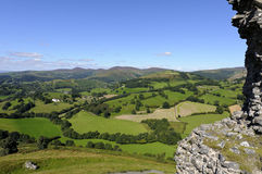 Castell Dinas Bran Stock Photography