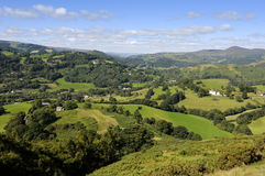 Castell Dinas Bran Stock Images