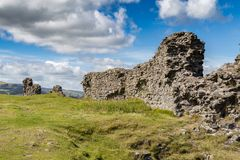 Castell Dinas Bran, Wales, UK Royalty Free Stock Images