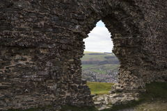 Castell Dinas Bran Royalty Free Stock Images