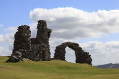 Castell Dinas Bran Royalty Free Stock Photos
