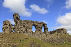 Castell Dinas Bran Stock Photo
