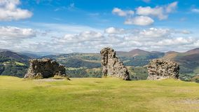 Castell Dinas Bran, Wales, UK Royalty Free Stock Photos