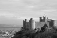 Castell Harlech Galles Fotografia Stock