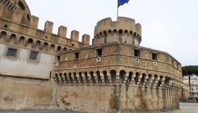 Castell Sant'Angelo stock photo