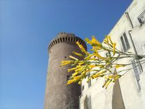 castell santo severo Royalty Free Stock Image